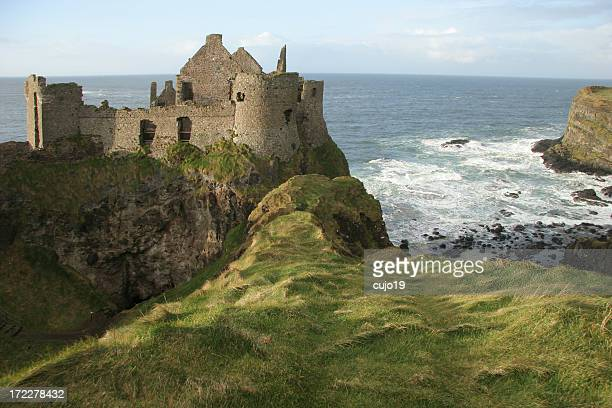 Dunluce Castle in County Antrim, Ireland