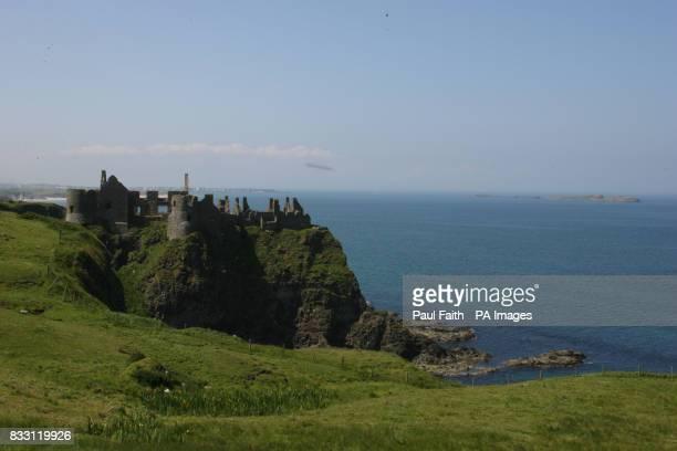 Dunluce Castle in County Antrim