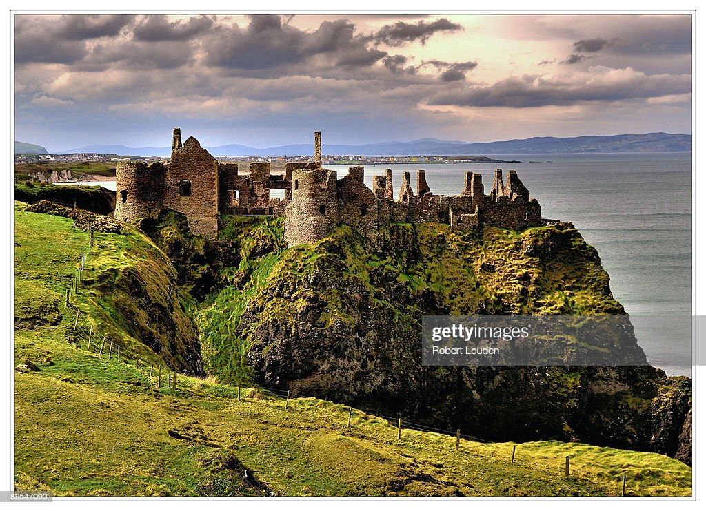Dunluce Castle : Stock Photo