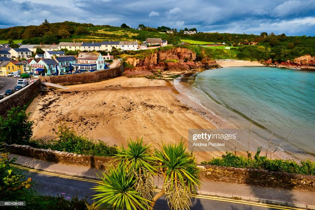 Dunmore East, Waterford, Ireland : Stock Photo