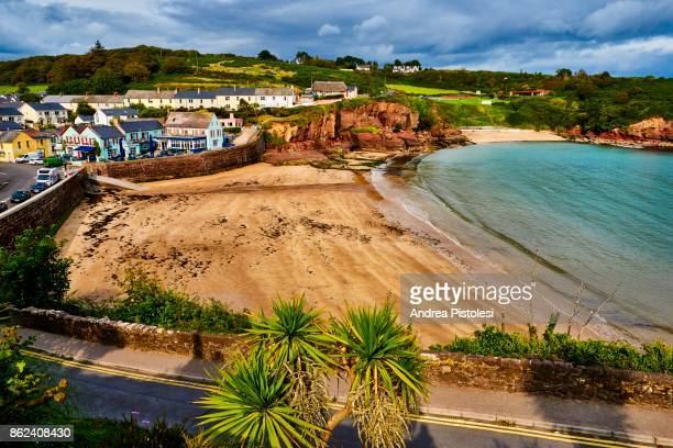 dunmore east, waterford, ireland - county waterford ireland stock pictures, royalty-free photos & images