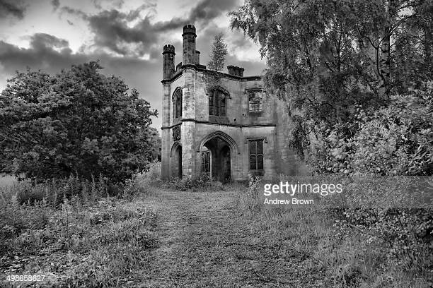 Dunmore House, near Airth in Scotland, built for George, 5th Earl of Dunmore, between 1820 and 1822 to the designs of William Wilkins.