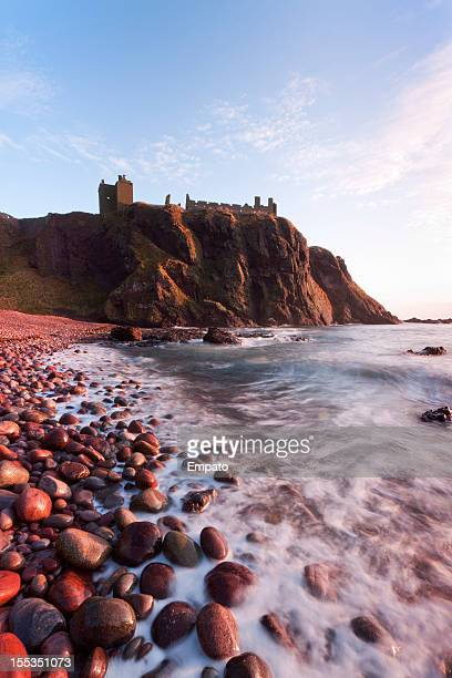 Dunnottar Bay at sunrise.