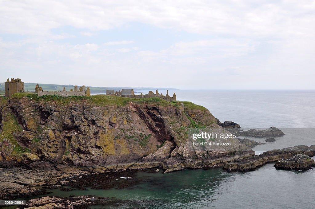 Dunnottar Castle Scotland : Stock Photo