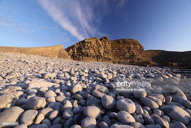Dunraven Bay in the Vale of Glamorgan, Wales