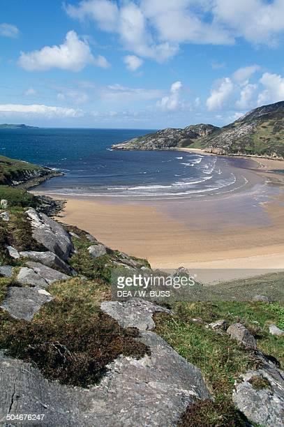 Dunree Head beach, Inishowen, County Donegal, Ireland.