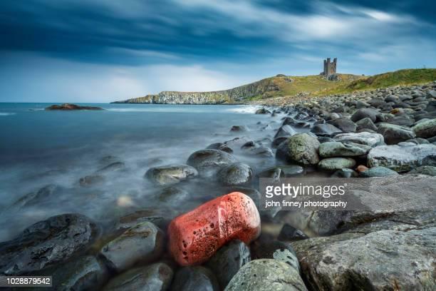 Dunstanburgh Castle, Northumberland. UK
