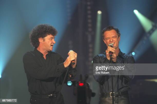 Duo between Robert Charlebois and David Hallyday