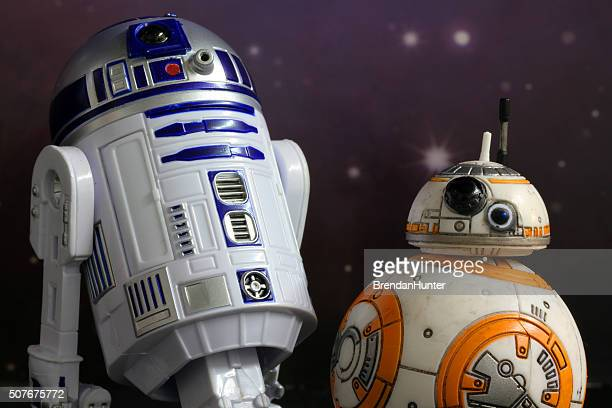 duo news - bb 8 stock pictures, royalty-free photos & images