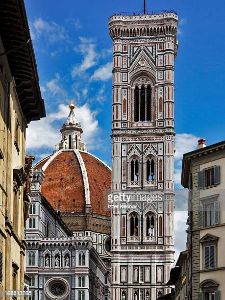 duomo and campanile close view - renaissance stock pictures, royalty-free photos & images