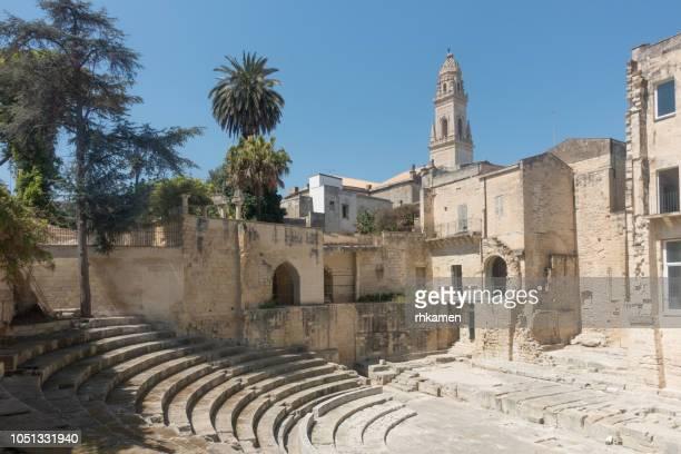 Duomo dell'Assunta, Cathedral, Lecce, Salento, Apulia, Italy.