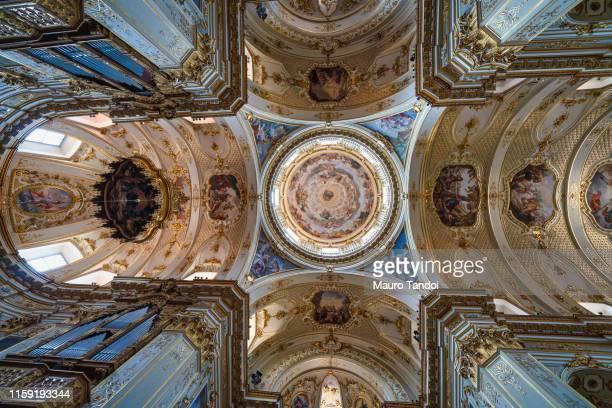 duomo di bergamo (bergamo dome), cattedrale di sant'alessandro, bergamo, italy - mauro tandoi foto e immagini stock