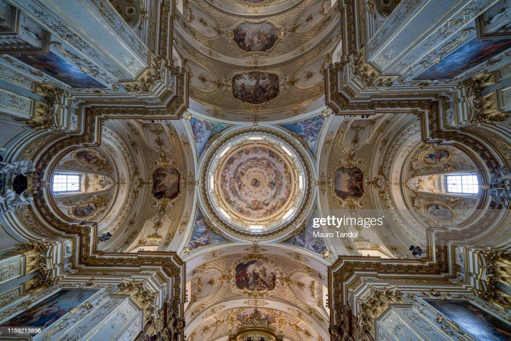 Duomo di Bergamo (Bergamo Dome), Cattedrale di Sant'Alessandro, Bergamo, Italy : Foto stock