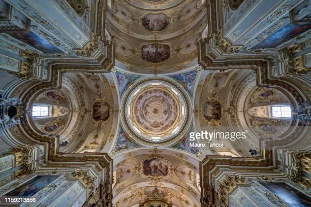 duomo di bergamo (bergamo dome), cattedrale di sant'alessandro, bergamo, italy - mauro tandoi fotografías e imágenes de stock