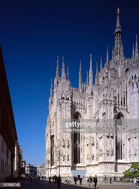 Duomo Di Milano Milan Italy Architect Pierre Luigi Nervi / Gio Ponti Duomo Di Milano Built From The Late 14Th Well Into The 19Th Century The Duomo Di...