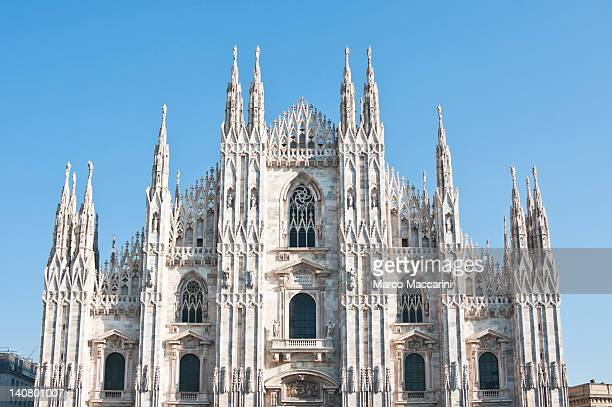 duomo di milano - milan cathedral stock pictures, royalty-free photos & images