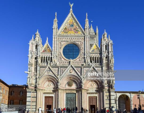 Duomo di Siena facade, an iconic masterpiece