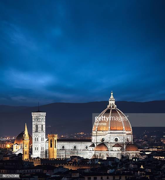 Duomo In Florence At Night