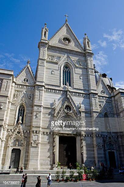 duomo, naples, campania, italy, europe - cathedral stock pictures, royalty-free photos & images