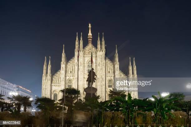 Duomo of Milan by night