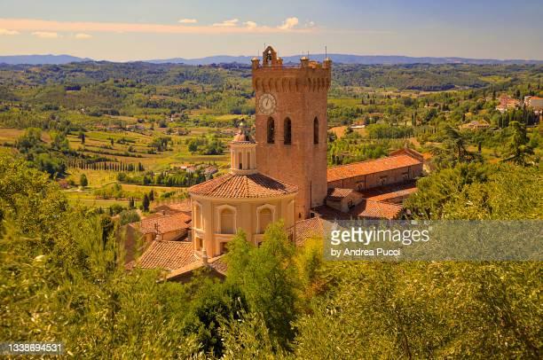 duomo of san miniato , tuscany, italy - san miniato stock pictures, royalty-free photos & images