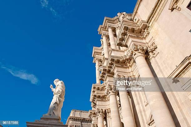 Duomo on Ortigia Island in Sicily, Italy