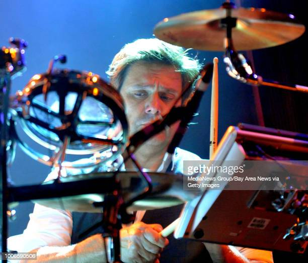 Duran Duran drummer Roger Taylor performs during their concert at the Fillmore in San Francisco Calif on Saturday April 16 2011