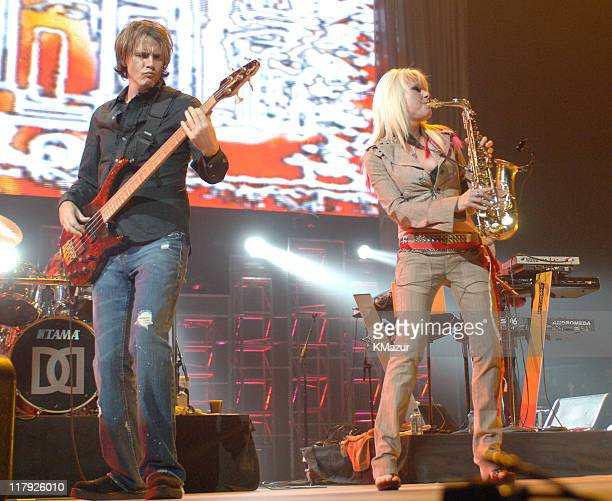 """Duran Duran during The Andre Agassi Charitable Foundation's 10th Annual """"Grand Slam for Children"""" Fundraiser - Show at MGM Grand Garden Arena in Las..."""