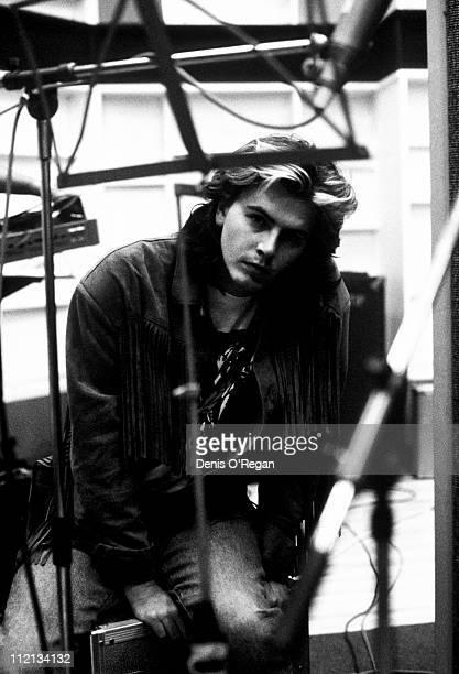 Duran Duran guitarist John Taylor in London 1985