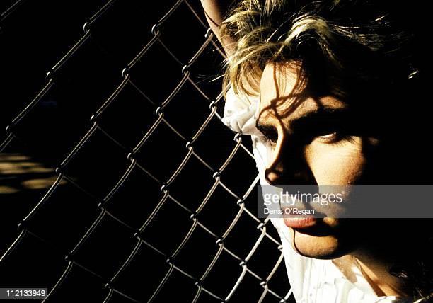 Duran Duran guitarist John Taylor in New York 1986