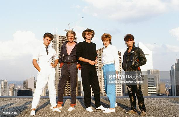 Duran Duran in NYC NYC February 1982