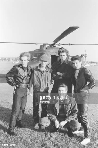 Duran Duran music group The Rio Tour December 1982