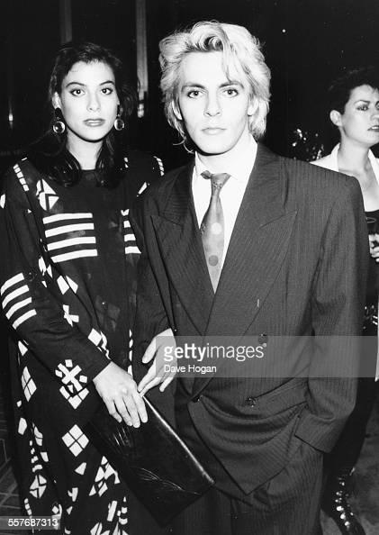 Duran Duran Musician Nick Rhodes And His Wife Julie Anne
