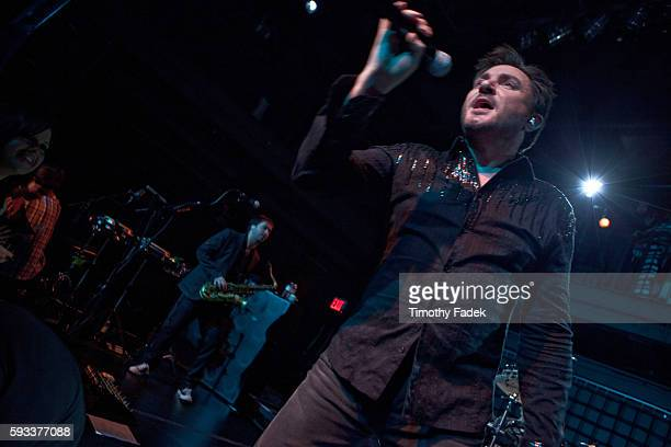 Duran Duran performed at Paper magazine's annual Beautiful People party at Good Units at the Hudson Hotel in New York Last week the band released All...