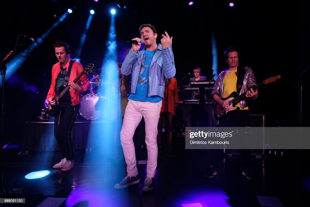 Duran Duran performs live for SiriusXM at The Faena Theater in Miami Beach during Art Basel on December 9, 2017 in Miami Beach, Florida.