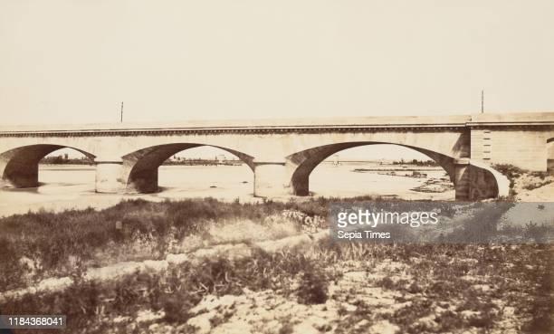 Durance Viaduc before 1859 Albumen silver print from paper negative Image 318 x 53 cm Photographs ƒdouard Baldus