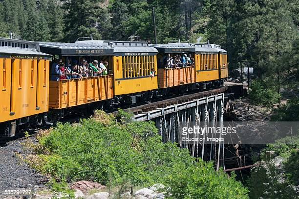 Durango and Silverton Narrow Gauge Railroad featuring Steam Engine Train ride Colorado