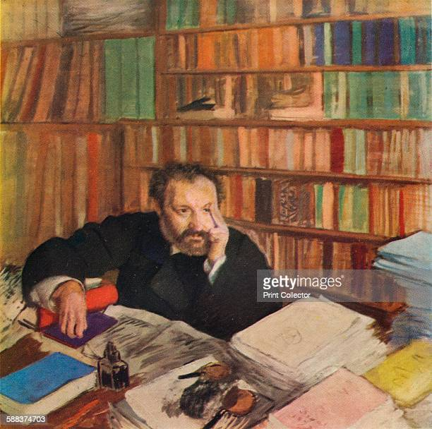 Duranty' 1879 Louis Edmond Duranty prolific French novelist and art critic From The Studio Volume 93
