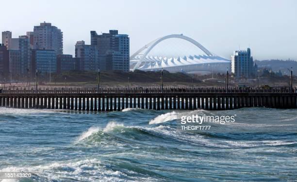 Durban City with the Sports Stadium
