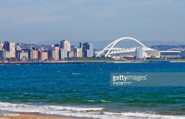 Durban Cityscape with Stadium