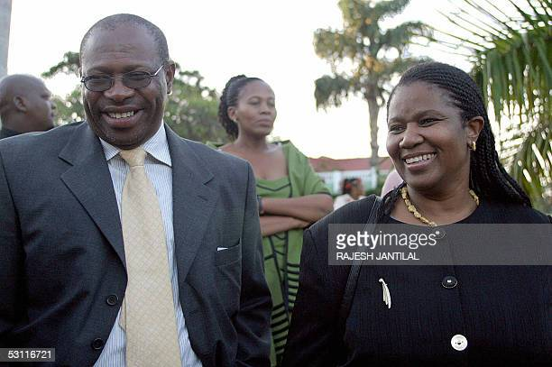 A picture taken 11 June 2005 shows former controversial Head of the National Prosecuting Authority Bulelani Ngcuka who refused to arrest the former...