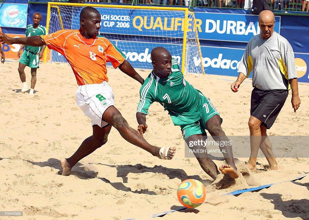 Ivory Coast player Nebbie Lassane Traore : News Photo