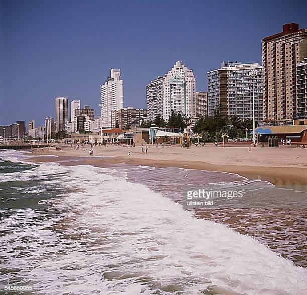 Durban : Strand am Indischen Ozean- o.J.