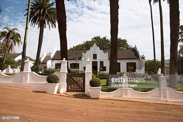 Durbanville Cape Town South Africa The Manor House at Diemersdal a Wine Producing Estate In Durbanville North Of Cape Town Southern Africa