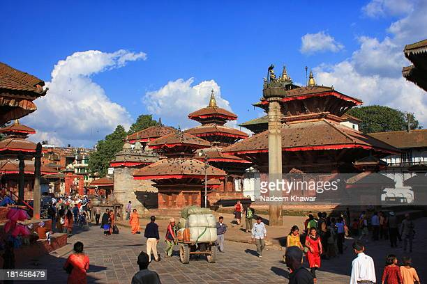 Durbar Square is the generic name used to describe plazas and areas opposite the old royal palaces in Nepal. It consists of temples, idols, open...