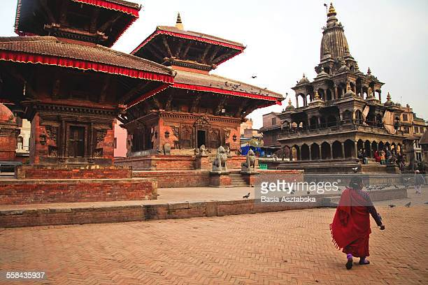 durbar square, patan - kathmandu stock pictures, royalty-free photos & images