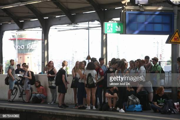 Durch Brandanschläge auf Stellwerke der Deutschen Bahn bei Leipzig kam es zu massiven Zugverspätungen von denen auch die SBahn Linien betroffen waren...