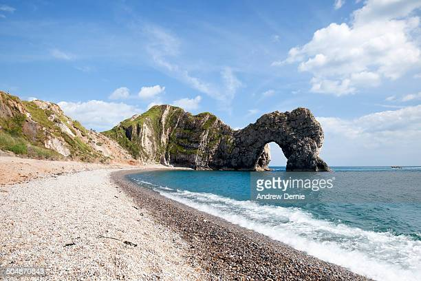 durdle door beach - andrew dernie stock pictures, royalty-free photos & images