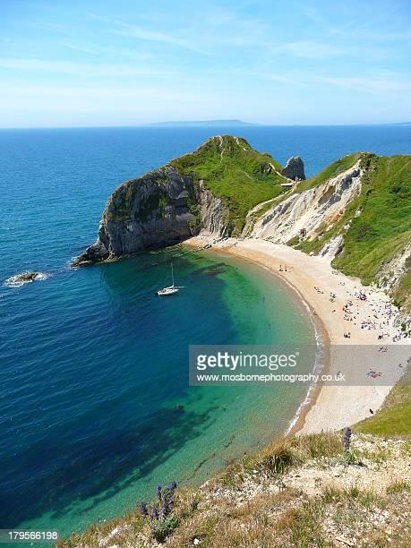 Durdle Door Coastline, Dorest UK