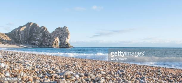 durdle door - arch stock pictures, royalty-free photos & images